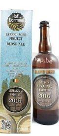 Hof Ten Dormaal Barrel-Aged Blond Beer Armagnac 2016