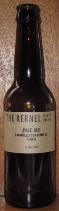 The Kernel Pale Ale Amarillo Centennial Loral