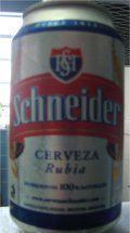 Schneider Cerveza Rubia