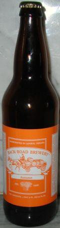 Back Road Autumn Ale 2005 (Baltic Porter)