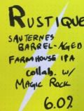 Lervig / Magic Rock Rustique Sauternes BA