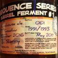 Uiltje Sequence Series 001 - Barrel Ferment #1