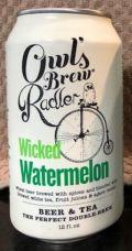 Owl's Brew Radler Wicked Watermelon
