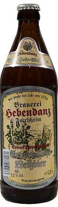Hebendanz Erstes Forchheimer Export Hefe-Weissbier