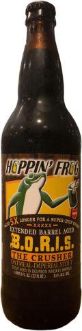 Hoppin' Frog Extended Barrel Aged BORIS The Crusher