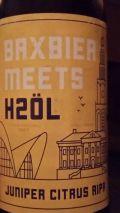 Bax Bier / H2ÖL Juniper Citrus Rye IPA