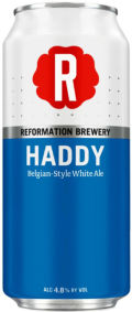Reformation Haddy Belgian-Style White Ale