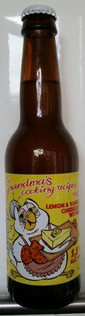 Uiltje Grandma's Cooking Recipes Vol. 2 - Lemon & Vanilla Cheesecake Wit Beer