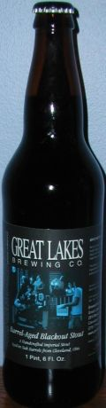 Great Lakes Barrel Aged Blackout Stout