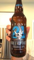 Stone 21st Anniversary Hail to the Hop Thief Double IPA