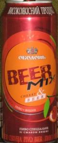 Obolon Beer-Mix (Cherry & Beer)