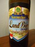 Wernecker Bayerisch Landbier Dunkel