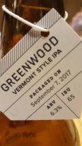 Left Field Greenwood Vermont Style IPA