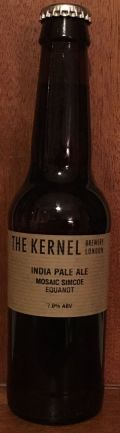 The Kernel India Pale Ale Mosaic Simcoe Equanot