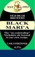 Old Bear Black Maria