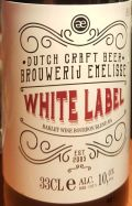 Emelisse White Label Barley Wine Bourbon Blend BA