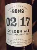 Brew By Numbers 02/17 Golden Ale - Mosaic Amarillo Delta