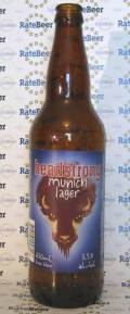 Big Hole Headstrong Munich Lager