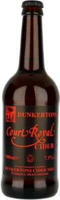 Dunkertons Court Royal Cider (Bottle)