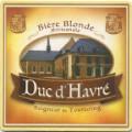 Duc d'Havré (Seigneur de Tourcoing) Bière Blonde Artisanale