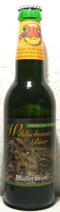 Müller Bräu Wildschweinbier Premium Spezial