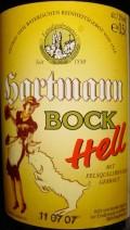 Hartmann Bock Hell (Maibock)