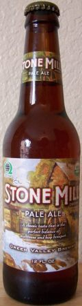 Green Valley Brewing Stone Mill Pale Ale