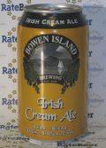 Bowen Island Irish Cream Ale