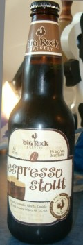 Big Rock Espresso Stout