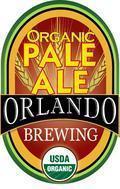 Orlando Brewing Organic Pale Ale