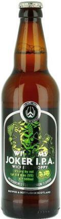 Williams Brothers Joker IPA (Bottle)