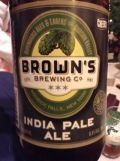 Brown's India Pale Ale