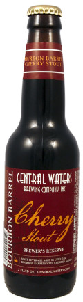 Central Waters Brewer's Reserve Bourbon Barrel Cherry Stout