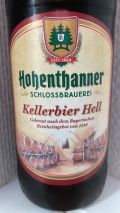 Hohenthanner Schlossbrauerei Kellerbier Hell