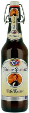Hacker-Pschorr (Hefe) Weisse (tap & bottle)