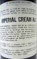 Ølfabrikken Imperial Cream Ale