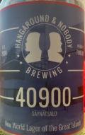 Hangaround & Nobody 40900