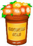 Flowerpots Goodens Gold