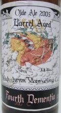 Kuhnhenn Fourth Dementia (4D) Old Ale - Bourbon Barrel