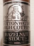 Carolina Beer Co. Cottonwood Hazelnut Stout