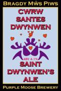 Purple Moose Saint Dwynwens Ale / Cwrw Santes Dwynwen
