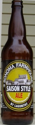Lagunitas Sonoma Farmhouse Saison Style Ale