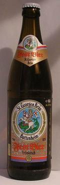 St. Georgen Bräu Fest Bier Fränkisch