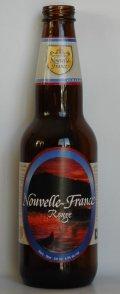 Les Bières de la Nouvelle-France Nouvelle-France Rouge