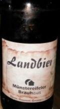 Bad Münstereifeler Landbier
