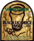 Short's Black Licorice Lager