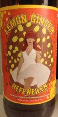 McCall Brewing Lemon Ginger Hefeweizen