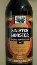 Barley Island Sinister Minister Belgian Black Ale