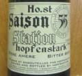 Hopfenstark Saison Station 55 (Bière Amère)