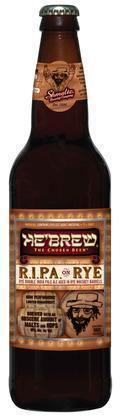 He'Brew R.I.P.A on Rye